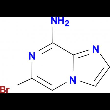 8-Amino-6-bromoimidazol[1,2-a]pyrazine
