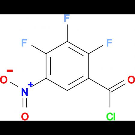 2,3,4-Trifluoro-5-nitrobenzoyl chloride