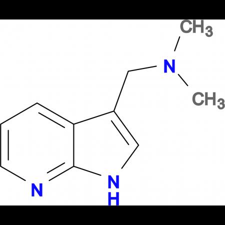 N,N-Dimethyl-1-(1H-pyrrolo[2,3-b]pyridin-3-yl)methanamine