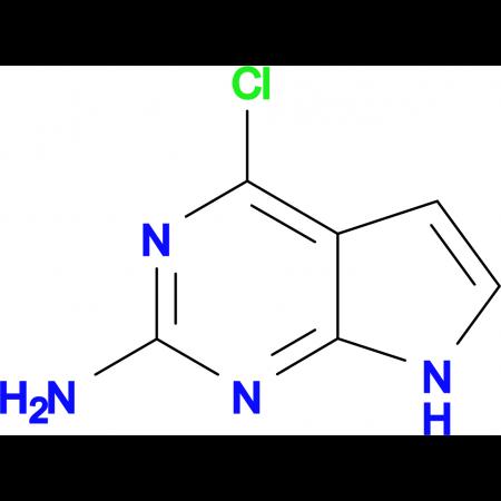 4-Chloro-7H-pyrrolo[2,3-d]pyrimidin-2-amine