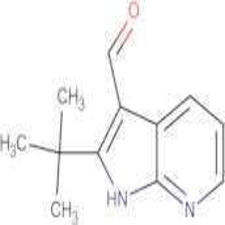 2-tert-Butyl-1H-pyrrolo[2,3-b]pyridine-3-carbaldehyde