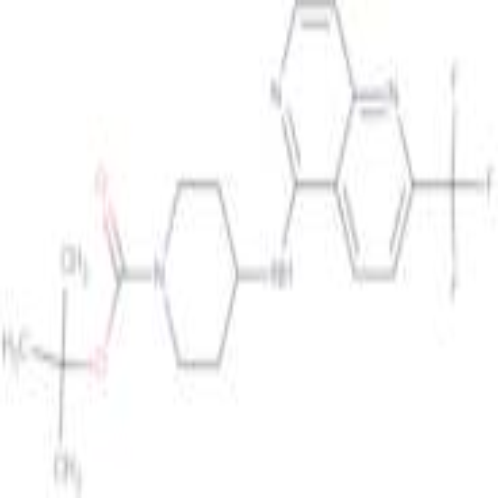 tert-Butyl 4-(2-(trifluoromethyl)-1,6-naphthyridin-5-ylamino)piperidine-1-carboxylate
