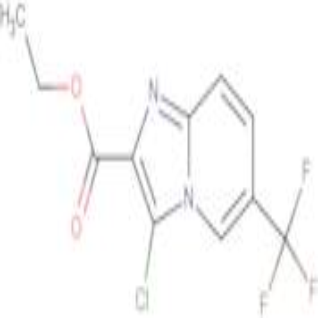 Ethyl 3-chloro-6-(trifluoromethyl)imidazo[1,2-a]pyridine-2-carboxylate