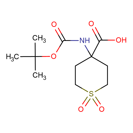 Boc-Amino-4-carboxy-1,1-dioxo-tetrahydrothiopyran