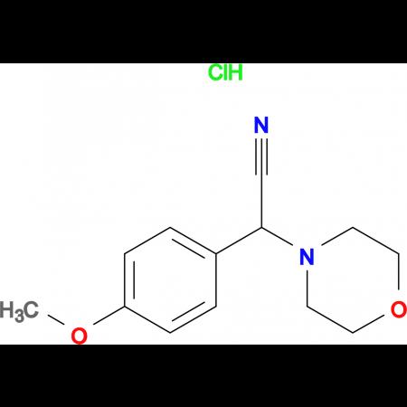 (4-Methoxy-phenyl)-morpholin-4-yl-acetonitrilehydrochloride
