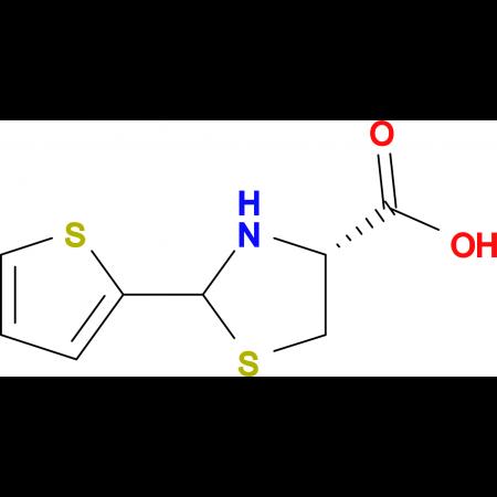 (R)-2-Thiophen-2-ylthiazolidine-4-carboxylic acid