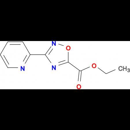 3-Pyridin-2-yl-[1,2,4]oxadiazole-5-carboxylic acid ethyl ester