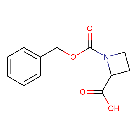 1-Benzyloxycarbonylazetidine-2-carboxylic acid