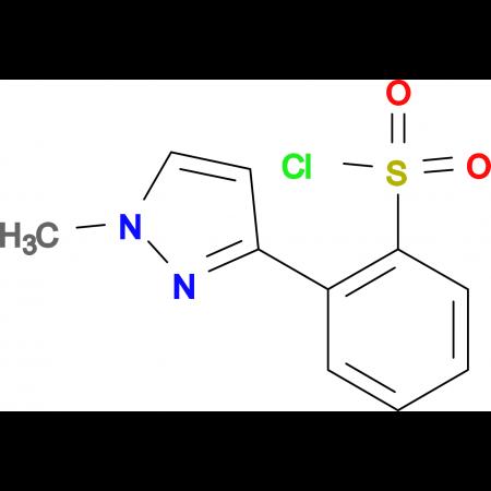 2-(1-Methyl-1H-pyrazol-3-yl)-benzenesulfonylchloride