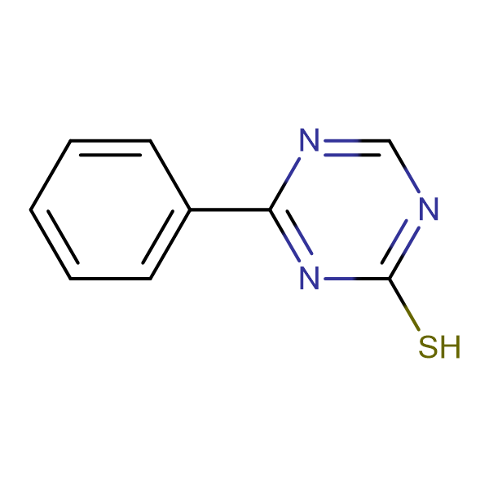 4-Phenyl[1,3,5]triazine-2-thiol
