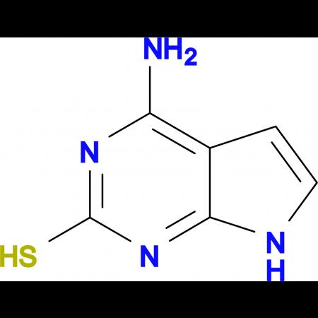 4-Amino-7H-pyrrolo[2,3-D]pyrimidine-2-thiol