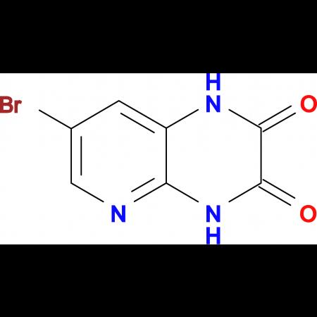 7-Bromo-2,3-dioxo-1,4-dihydro-pyrido[2,3-b]pyrazine