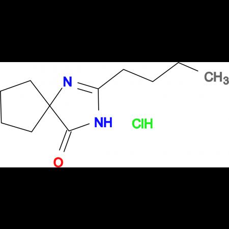 2-Butyl-1,3-diaza-spiro[4.4]non-1-en-4-one hydrochloride