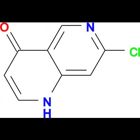 7-Chloro-1H-1,6-naphthyridin-4-one