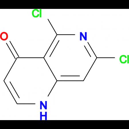5,7-Dichloro-1H-[1,6]naphthyridin-4-one