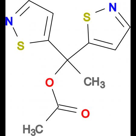 1,1-Di-isothiazol-5-yl-ethyl acetate