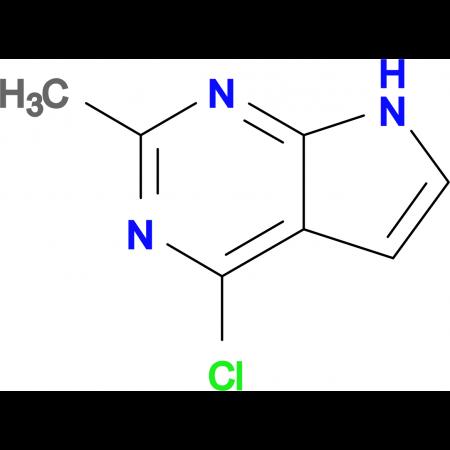 4-Chloro-2-methyl-7H-pyrrolo[2,3-D]pyrimidine