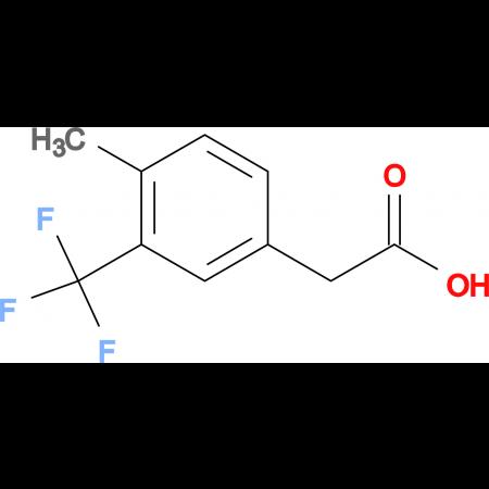 4-Methyl-3-(trifluoromethyl)phenylacetic acid