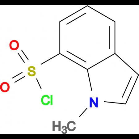 1-Methyl-1H-indole-7-sulfonyl chloride