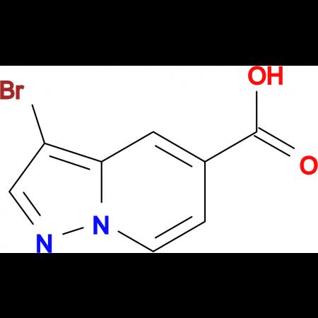 3-Bromopyrazolo[1,5-a]pyridine-5-carboxylic acid