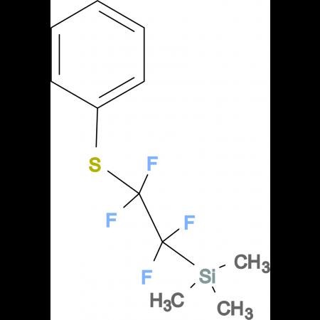 Trimethyl(1,1,2,2-tetrafluoro-2-(phenylthio)ethyl)silane