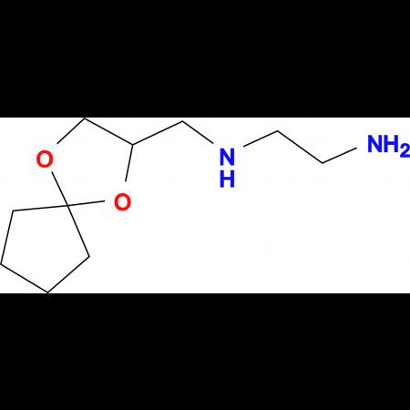 N*1*-(1,4-Dioxa-spiro[4.4]non-2-ylmethyl)-ethane-1,2-diamine