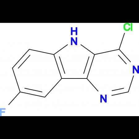 4-Chloro-8-fluoro-5H-pyrimido[5,4-b]indole