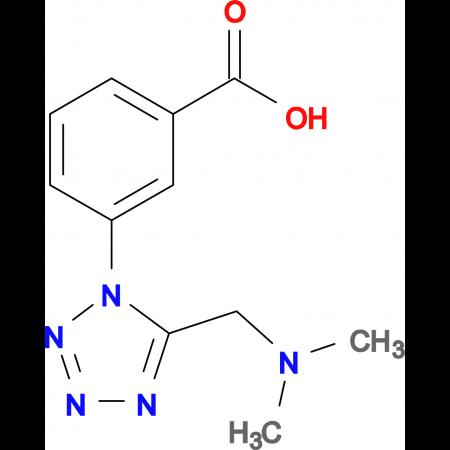 3-(5-Dimethylaminomethyl-tetrazol-1-yl)-benzoic acid