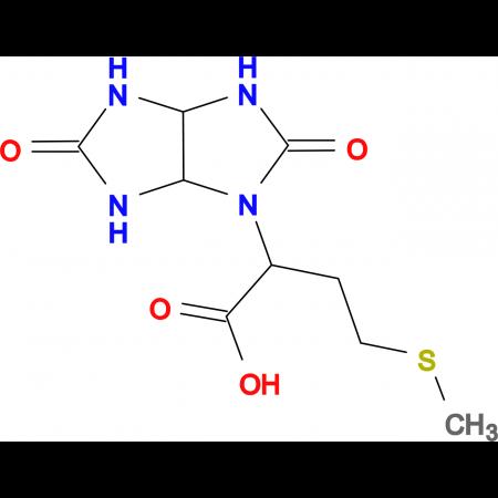 2-(2,5-Dioxo-hexahydro-imidazo[4,5-d]imidazol-1-yl)-4-methylsulfanyl-butyric acid