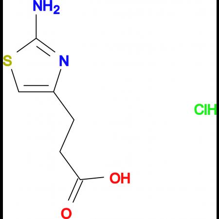 3-(2-Amino-thiazol-4-yl)-propionic acid hydrochloride