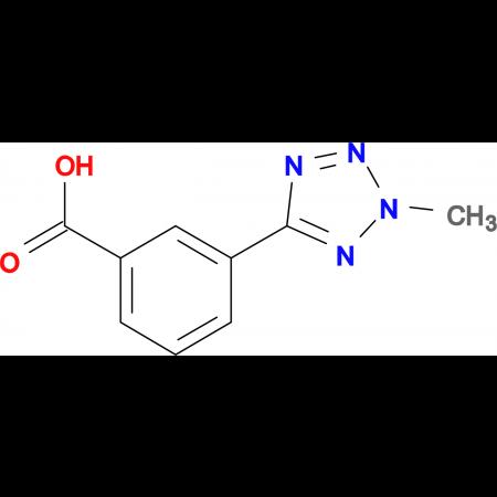 3-(2-Methyl-2H-tetrazol-5-yl)-benzoic acid