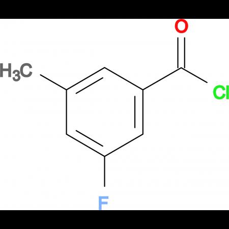 3-Fluoro-5-methylbenzoyl chloride
