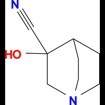 3-Hydroxyquinuclidine-3-carbonitrile