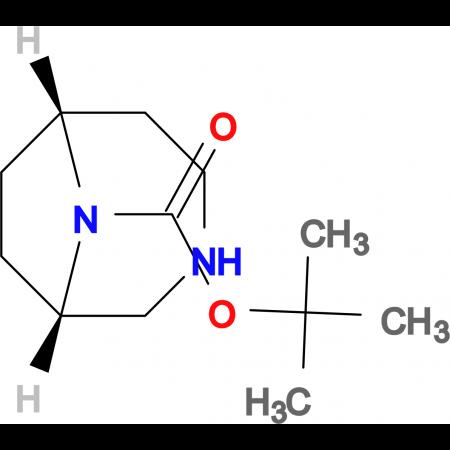 tert-Butyl-(1S),(6R)-3,9-diazabicyclo[4.2.1]nonane -9-carboxylate