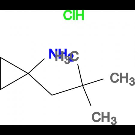 1-(2,2-Dimethylpropyl)cyclopropyl amine hydrochloride