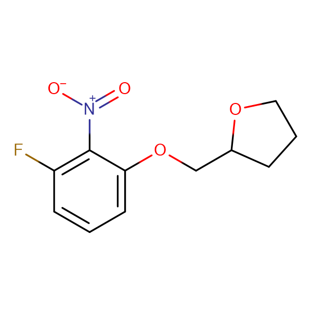 2-[(3-Fluoro-2-nitrophenoxy)methyl]tetrahydrofuran