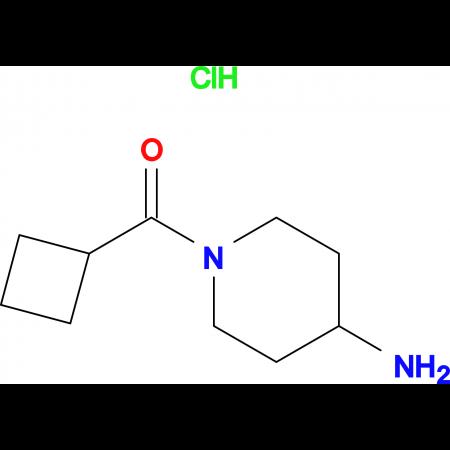 (4-Aminopiperidin-1-yl)(cyclobutyl)methanone hydrochloride