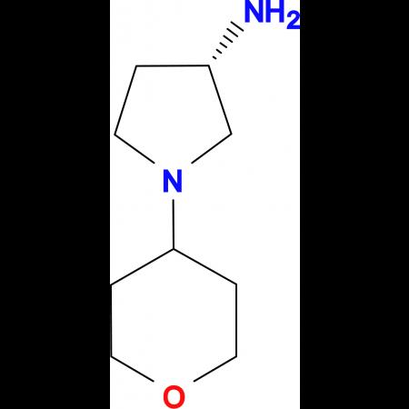 (S)-1-(Tetrahydro-2H-pyran-4-yl)pyrrolidin-3-amine