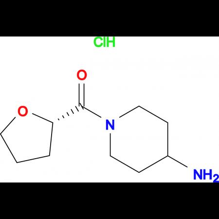 (S)-(4-Aminopiperidin-1-yl)(tetrahydrofuran-2-yl)methanone hydrochloride