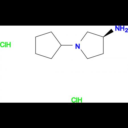 (S)-1-Cyclopentylpyrrolidin-3-amine dihydrochloride