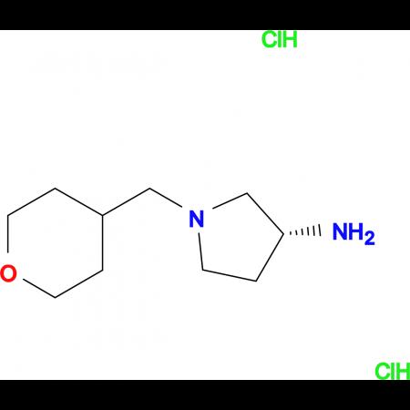 (R)-1-[(Tetrahydro-2H-pyran-4-yl)methyl]pyrrolidin-3-amine dihydrochloride