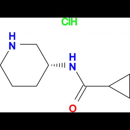 (R)-N-(Piperidin-3-yl)cyclopropanecarboxamide hydrochloride