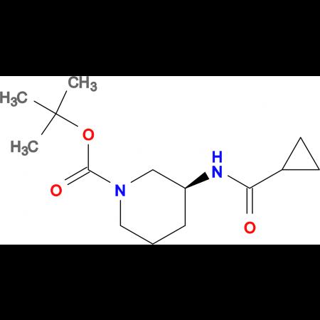 (S)-tert-Butyl 3-cyclopropaneamidopiperidine-1-carboxylate