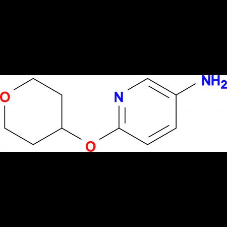 6-(Tetrahydro-2H-pyran-4-yloxy)pyridin-3-amine