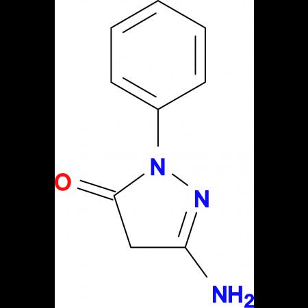 5-Amino-2-phenyl-2,4-dihydro-3H-pyrazol-3-one