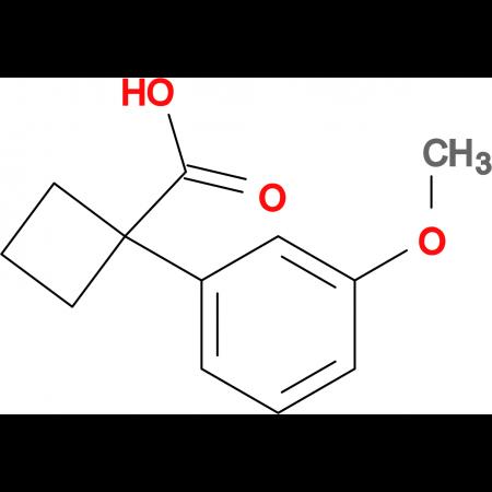 1-(3-Methoxyphenyl)cyclobutanecarboxylic acid