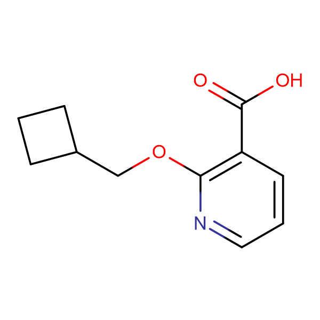 2-(Cyclobutylmethoxy)nicotinic acid