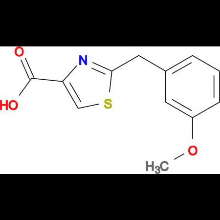 2-(3-Methoxybenzyl)-1,3-thiazole-4-carboxylic acid