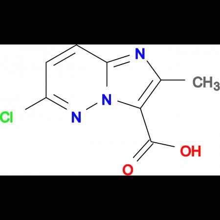 6-Chloro-2-methylimidazo[1,2-b]pyridazine-3-carboxylic acid