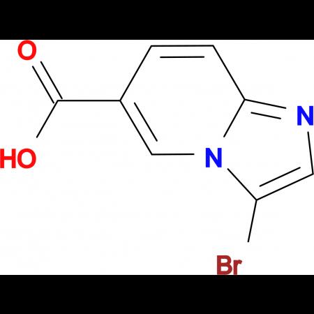 3-Bromoimidazo[1,2-a]pyridine-6-carboxylic acid